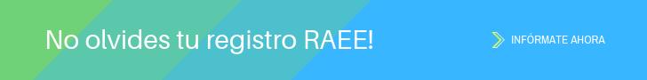 No olvides tu registro RAEE!